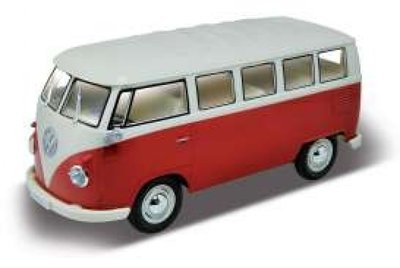 welly radio control volkswagen bus ready to run rood. Black Bedroom Furniture Sets. Home Design Ideas